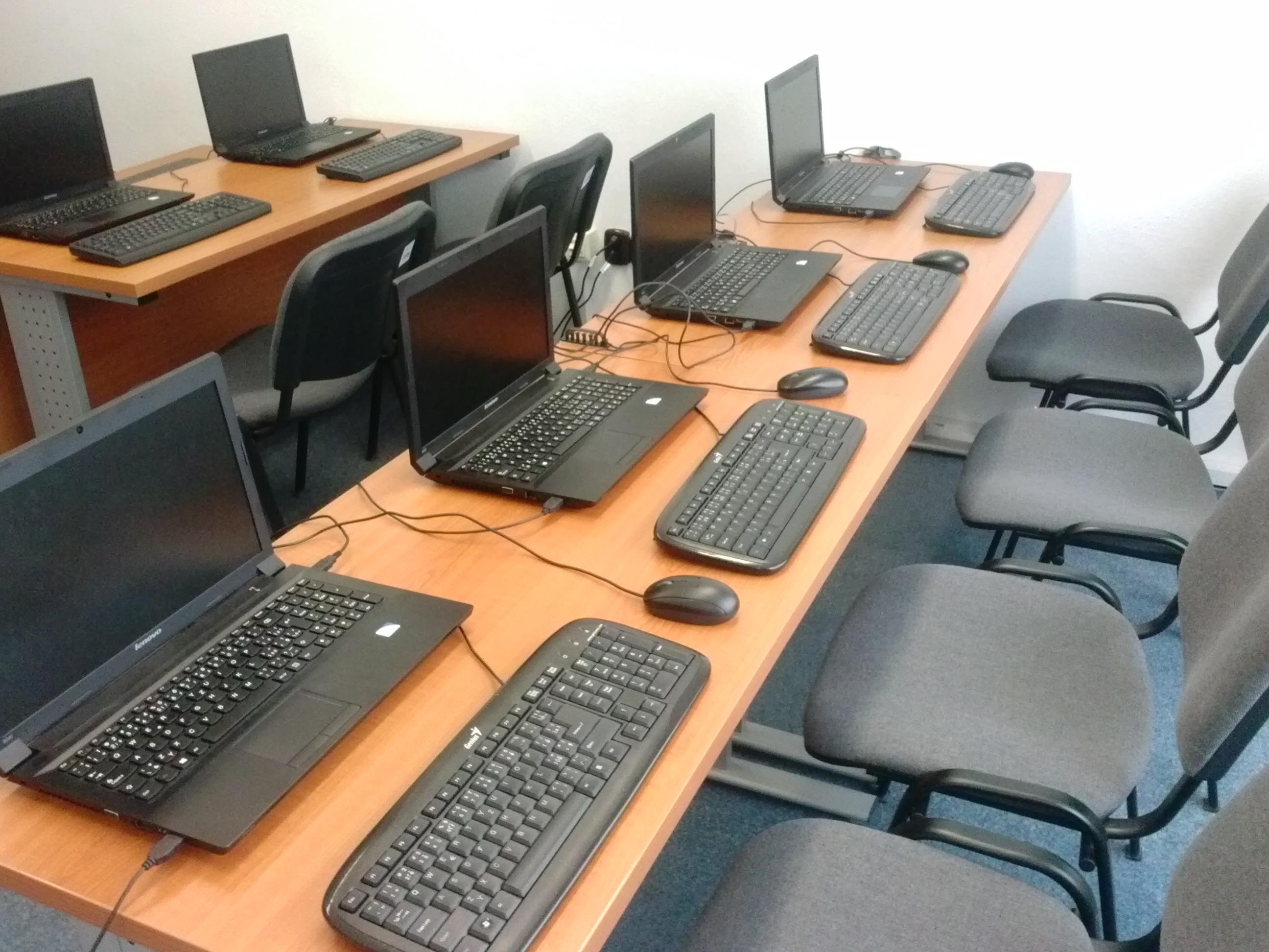 Mobilná počítačová učebňa IVIT