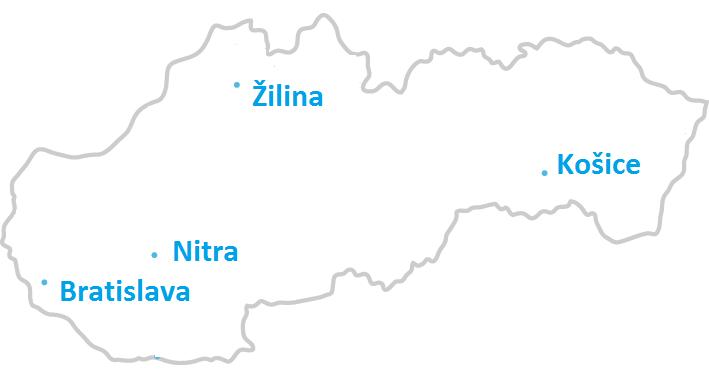 Verejné počítačové kurzy - Bratislava, Nitra, Košice a Žilina